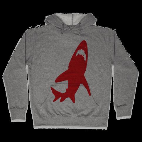 Stalking Shark Hooded Sweatshirt