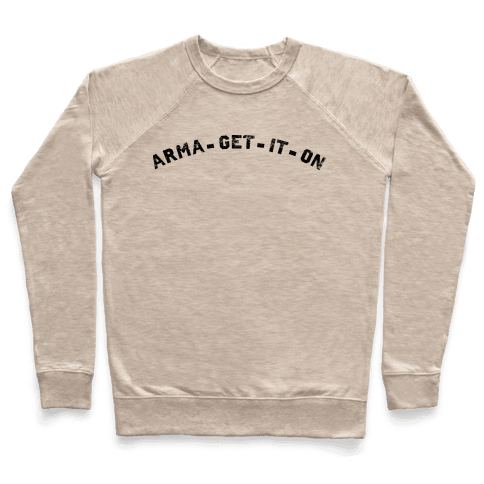 ARMA-GET-IT-ON Pullover