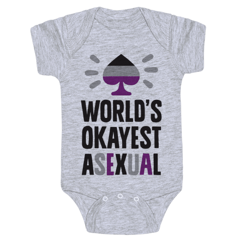 World's Okayest Asexual Baby Onesy