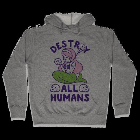 Destroy All Humans Hooded Sweatshirt