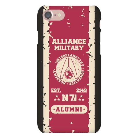 Alliance Military Alumni Phone Case