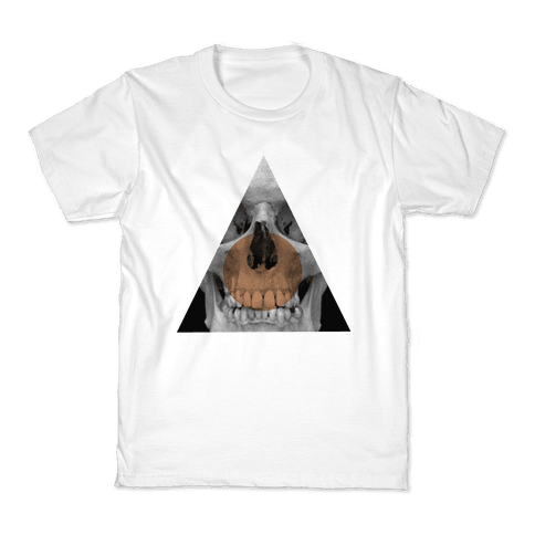 Skull Triangle Kids T-Shirt
