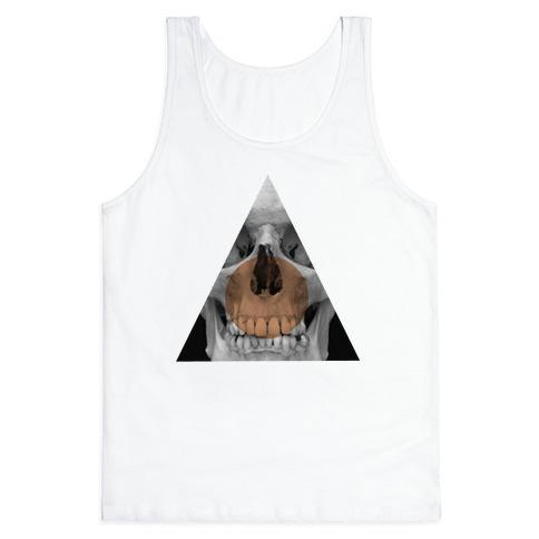 Skull Triangle Tank Top