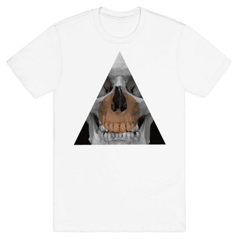Skull Triangle Mens T-Shirt