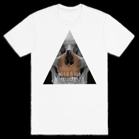 Skull Triangle Mens T-Shirt