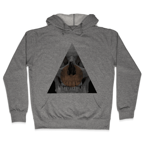 Skull Triangle Hooded Sweatshirt