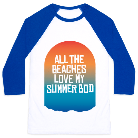 All the Beaches Baseball Tee