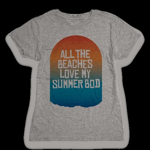 All the Beaches Womens T-Shirt