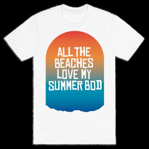 All the Beaches Mens T-Shirt