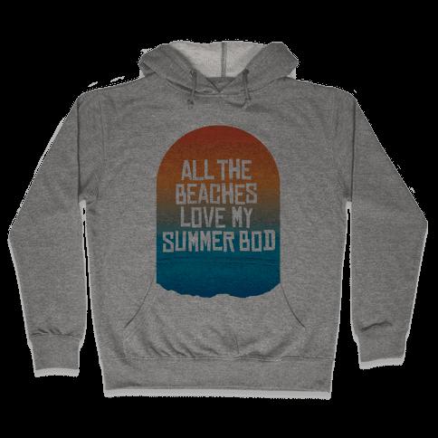 All the Beaches Hooded Sweatshirt