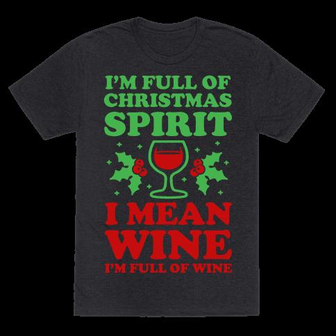 I'm Full of Wine
