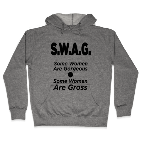 S.W.A.G. (Tank) Hooded Sweatshirt