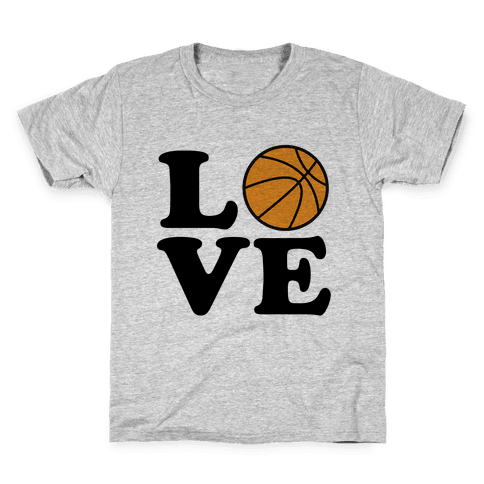 Love Basketball Kids T-Shirt