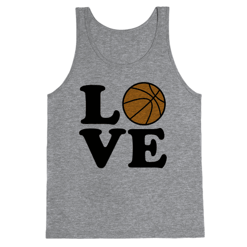Love Basketball Tank Top