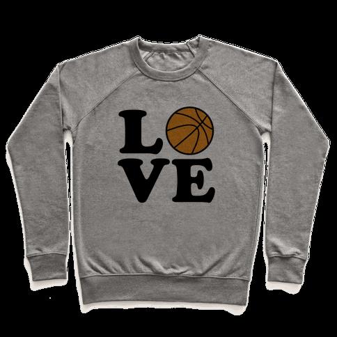 Love Basketball Pullover