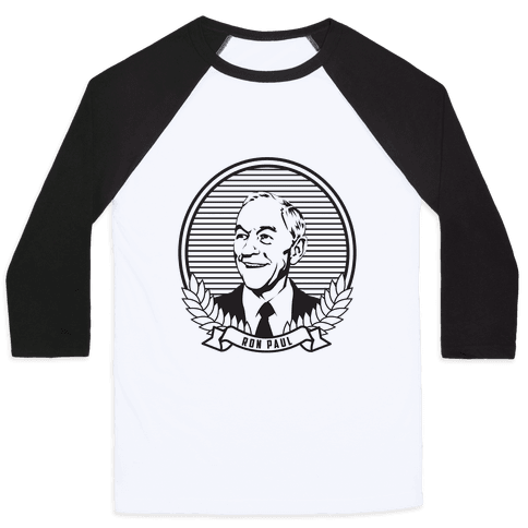 Ron Paul Dollar Baseball Tee