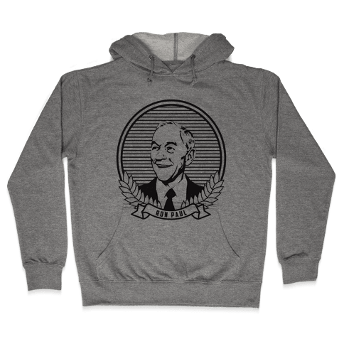 Ron Paul Dollar Hooded Sweatshirt