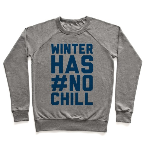 Winter Has No Chill Pullover