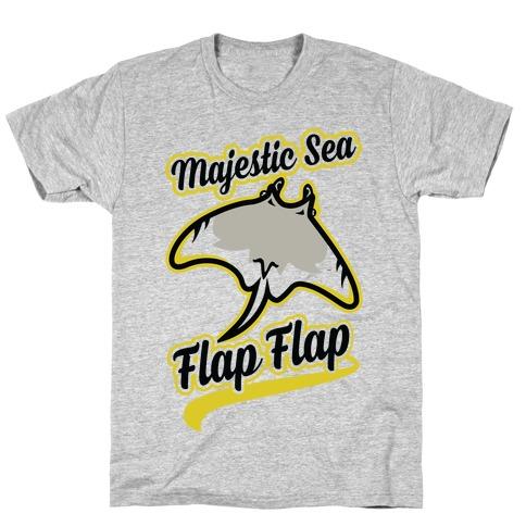 Majestic Sea Flap Flap T-Shirt