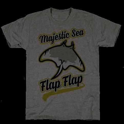 Majestic Sea Flap Flap Mens T-Shirt