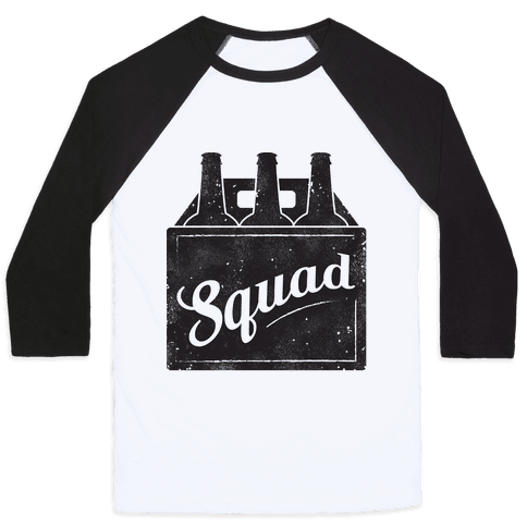 Squad Baseball Tee