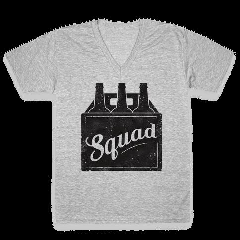 Squad V-Neck Tee Shirt