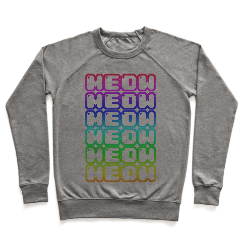 Meow Rainbow Pullover