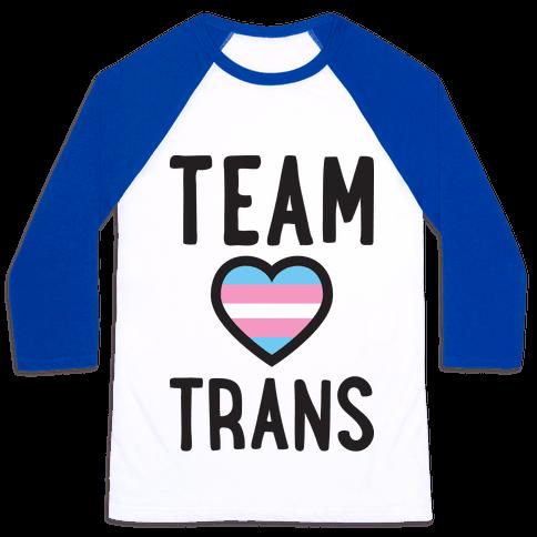 Team Trans Baseball Tee
