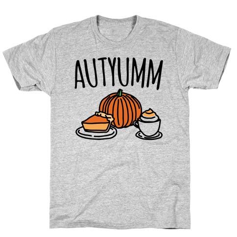 Autyumm Autumn Foods Parody T-Shirt