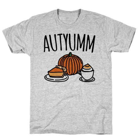 Autyumm Autumn Foods Parody T-Shirt
