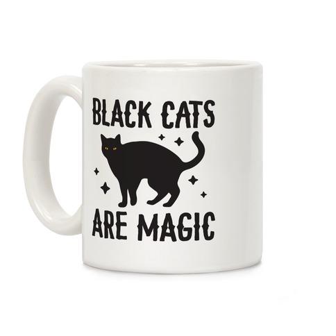 Black Cats Are Magic Coffee Mug