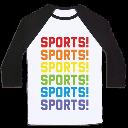 Sports Sports Sports Baseball Tee