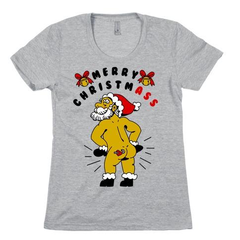 Merry ChristmAss Womens T-Shirt
