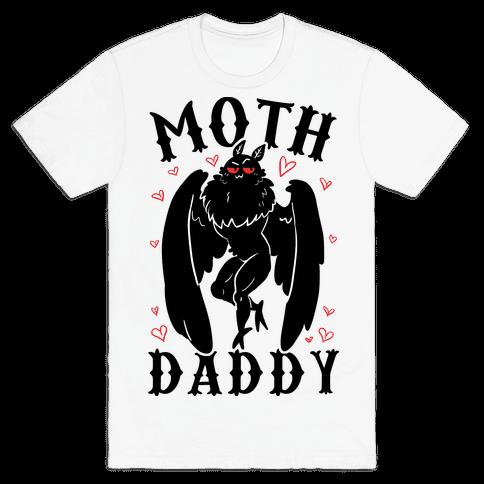 Moth Daddy Mens/Unisex T-Shirt