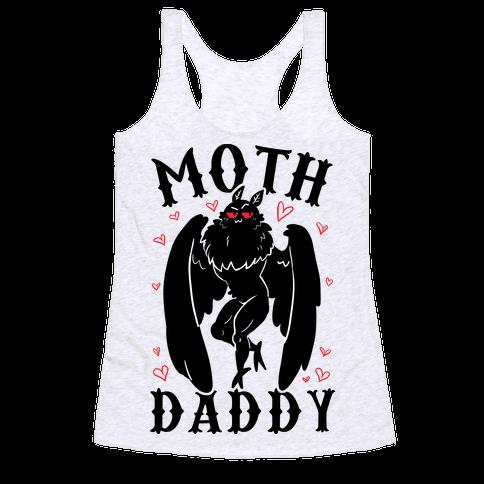 Moth Daddy Racerback Tank Top