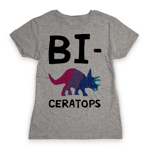 Bi-ceratops Womens T-Shirt