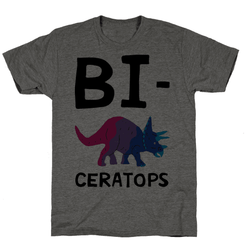 Bi-ceratops Mens T-Shirt