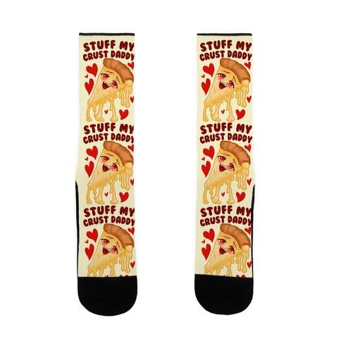 Stuff My Crust Daddy Sock