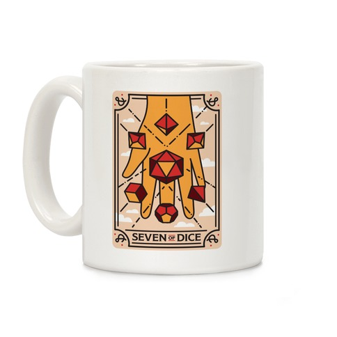 Seven of Dice - D&D Tarot Coffee Mug