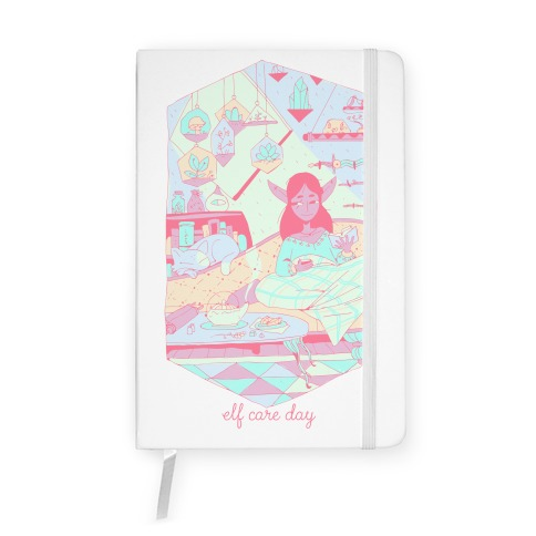 Elf Care Day Notebook