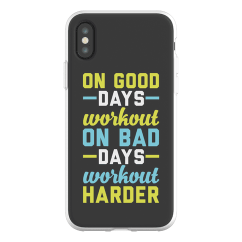 On Good Days Workout Phone Flexi-Case