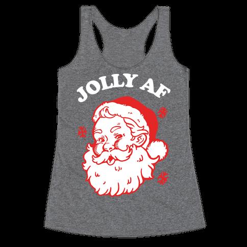 Jolly AF Racerback Tank Top