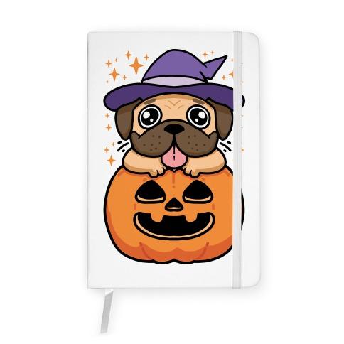Halloween Pug Notebook