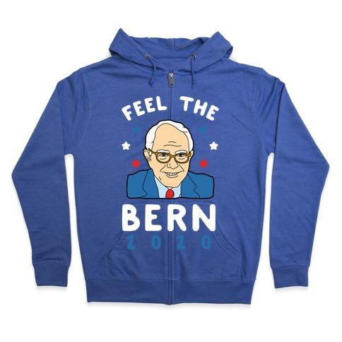 Feel the Bern 2020 Zip Hoodie
