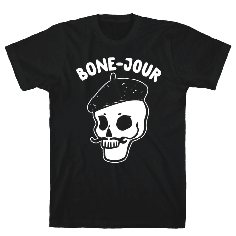 Bone-Jour Mens T-Shirt