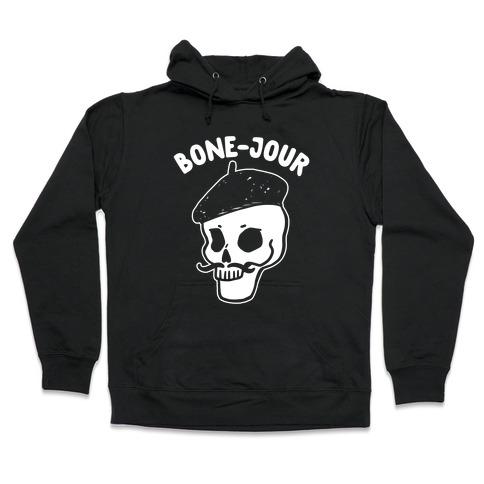 Bone-Jour Hooded Sweatshirt