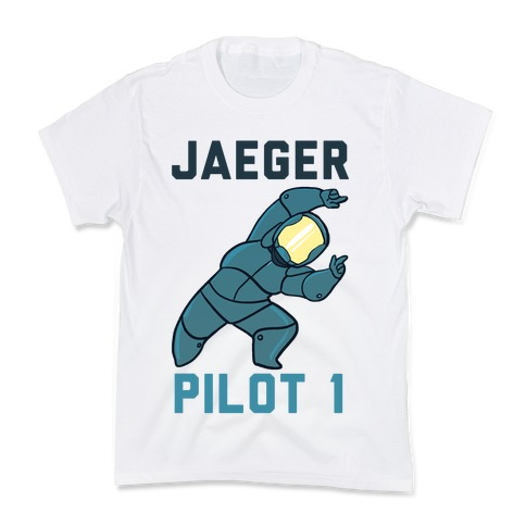 Jaeger Pilot 1 (1 of 2 set) Kids T-Shirt