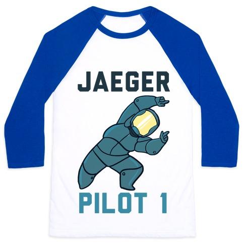 Jaeger Pilot 1 (1 of 2 set) Baseball Tee