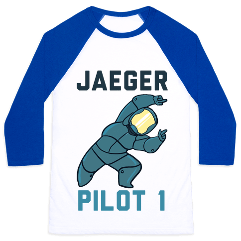 Jaeger Pilot 1 (1 of 2 set) Baseball Tee
