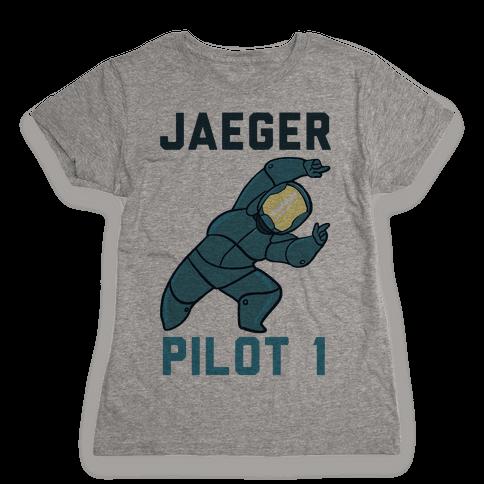 Jaeger Pilot 1 (1 of 2 set) Womens T-Shirt